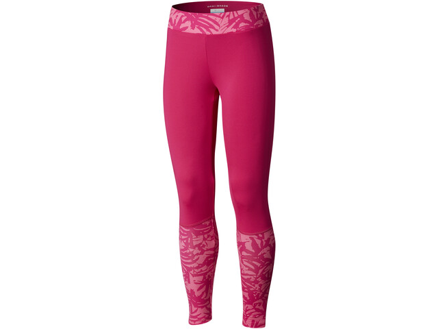 Columbia Trulli Trails Printed Leggings Niñas, haute pink